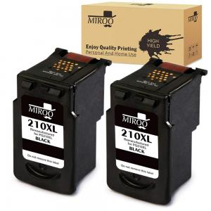 MIROO Remanufactured Replacement for Canon PG-210XL PG210 Ink Cartridge,Use on Canon PIXMA MP495 MP280 MP250 MP490 MP480 IP2702 MP230 MX410 MX420 MX340 MP270 MP240 MX330 MX320 MP499 IP2700 Printer